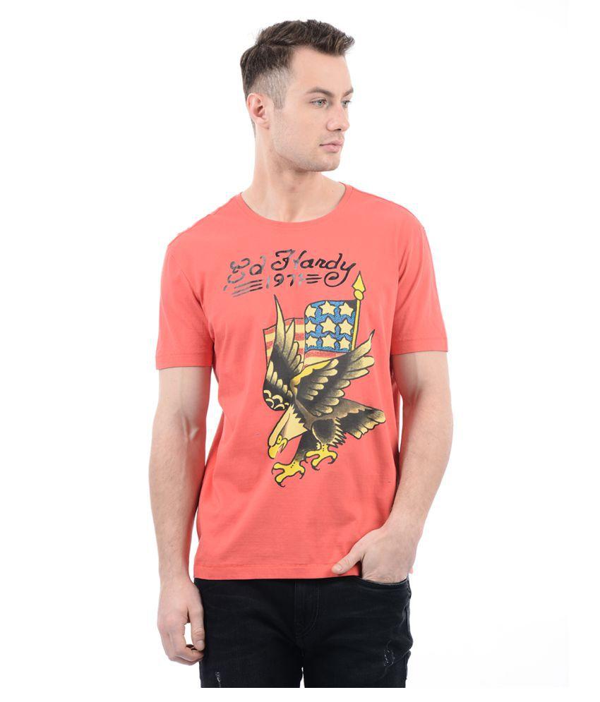 Ed Hardy Multi Round T-Shirt