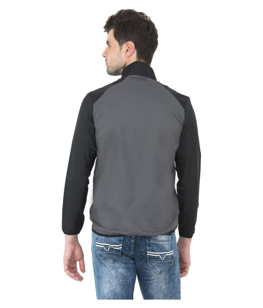 e8a57ad917c7 NIKE Grey Quilted   Bomber Jacket - Buy NIKE Grey Quilted   Bomber ...