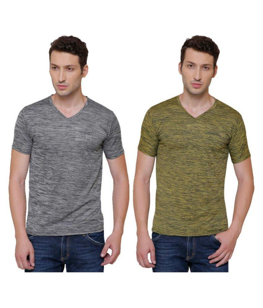 Pali Multi V-Neck T-Shirt