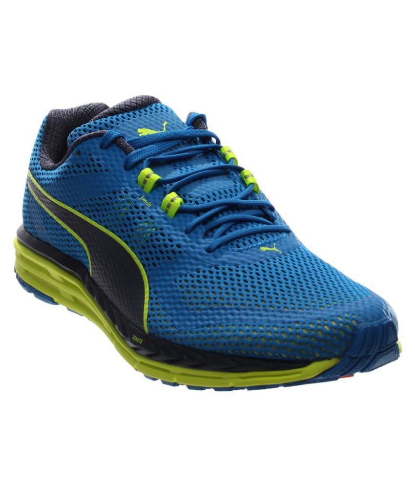 7d8d94ad7b1 Puma Speed 500 IGNITE Blue Training Shoes - Buy Puma Speed 500 IGNITE Blue  Training Shoes Online at Best Prices in India on Snapdeal
