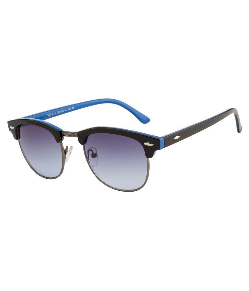 Ted Smith Blue Wayfarer Sunglasses ( TS-JS110005 )