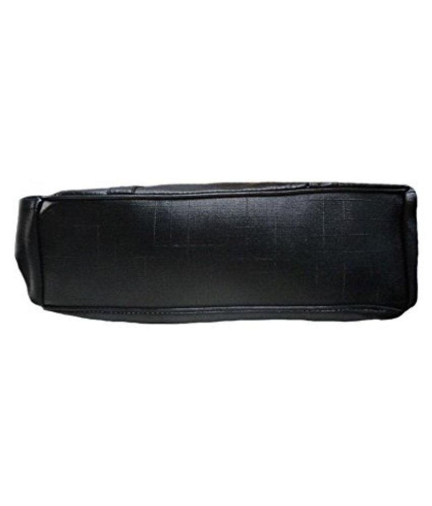 AJ STYLE Black P.U. Shoulder Bag - Buy AJ STYLE Black P.U. Shoulder ... 3d652f68f3894
