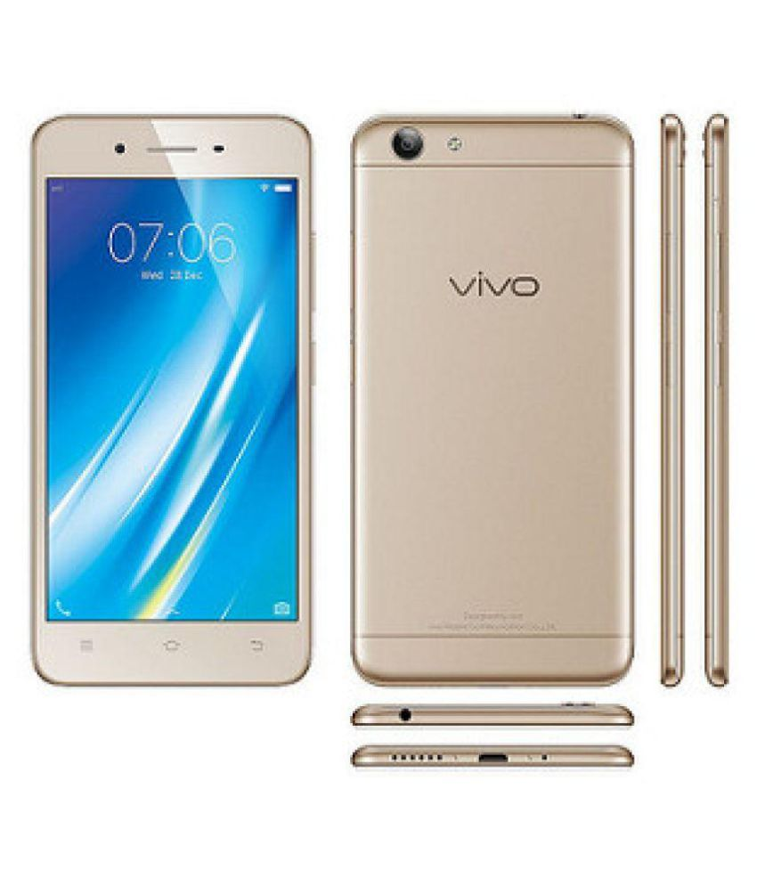 timeless design e24f9 39632 Vivo 1606 (Y53) ( 16GB , 2 GB ) Crown Gold