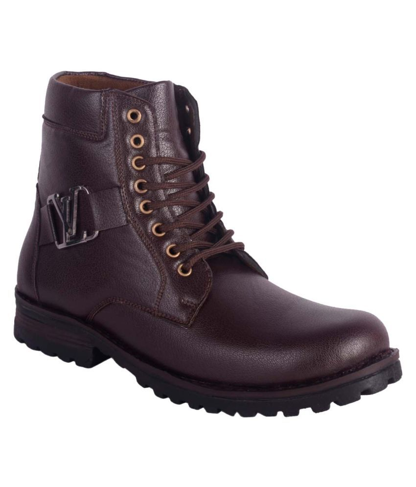 Austrich Brown Formal Boot