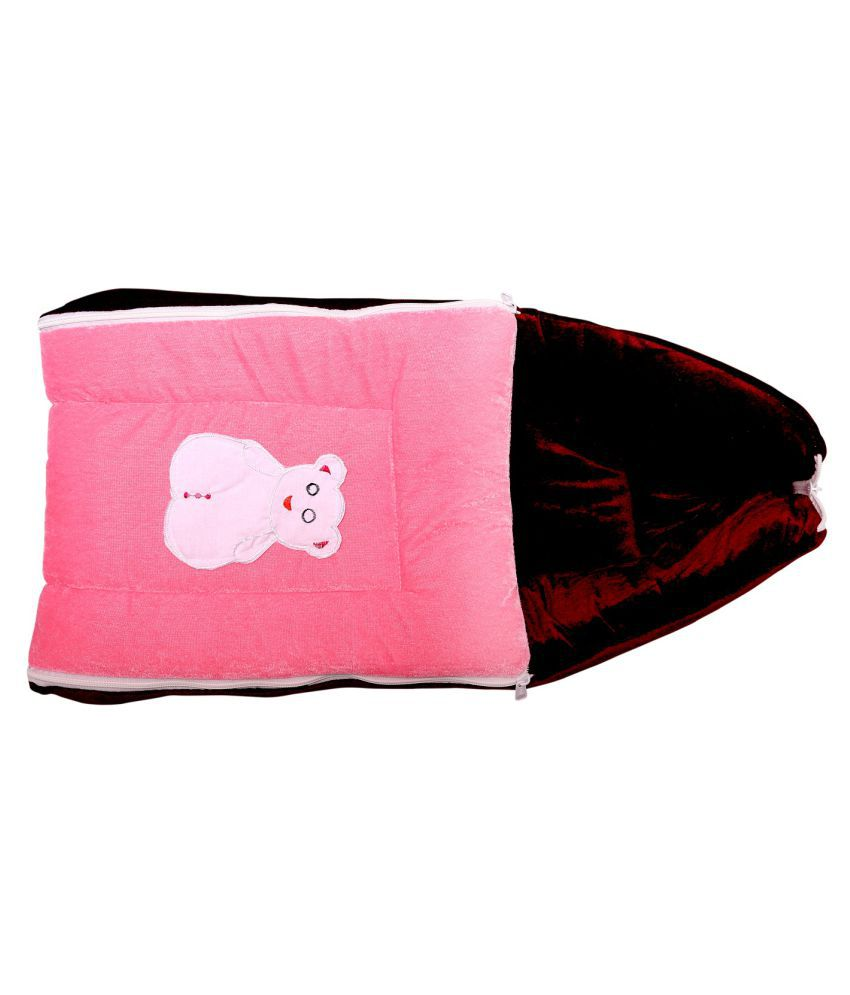 BcH Pink Cotton Sleeping Bags ( 64 cm × 41 cm)