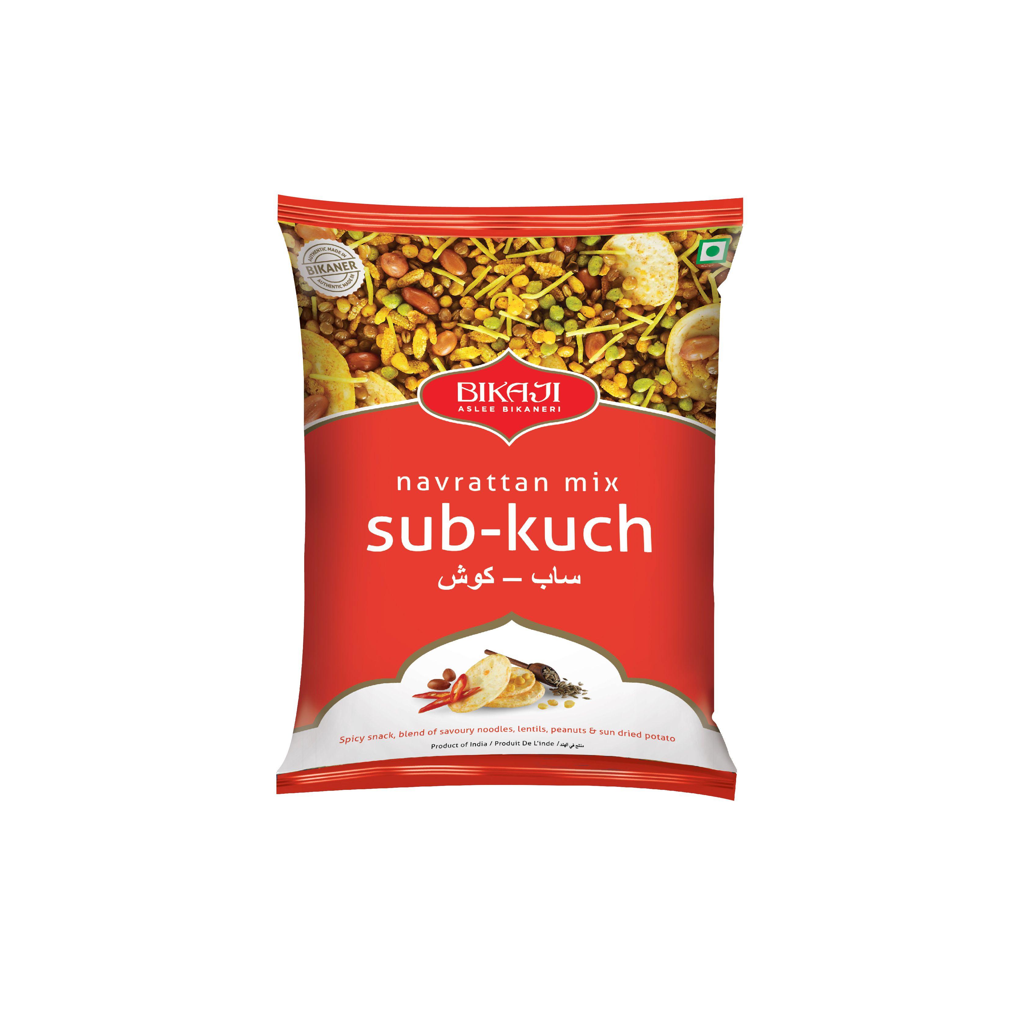 bikaji foods sab kuch chabenni mixture pack of 2 x 400gm