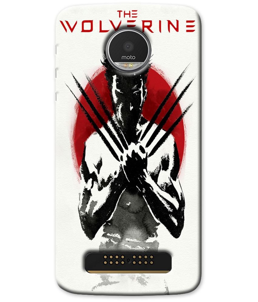 Moto Z2 Play Printed Cover By Case King
