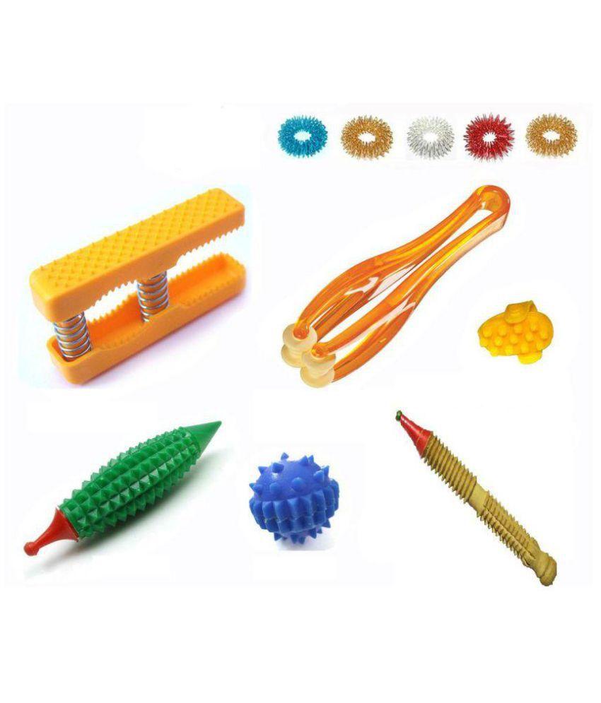 Acupressure Hand Massage kit ( Pocket Exerciser + Finger ...