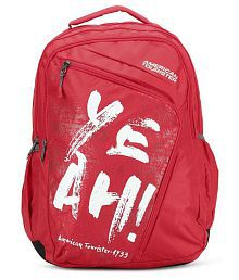 American Tourister Red VOLT Backpack