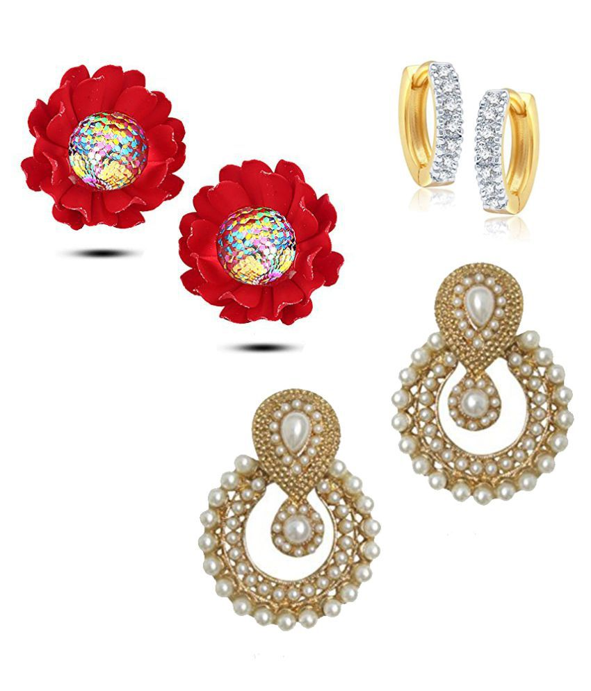 YouBella Fashion Jewellery Stylish Necklace Combo for Girls and Women