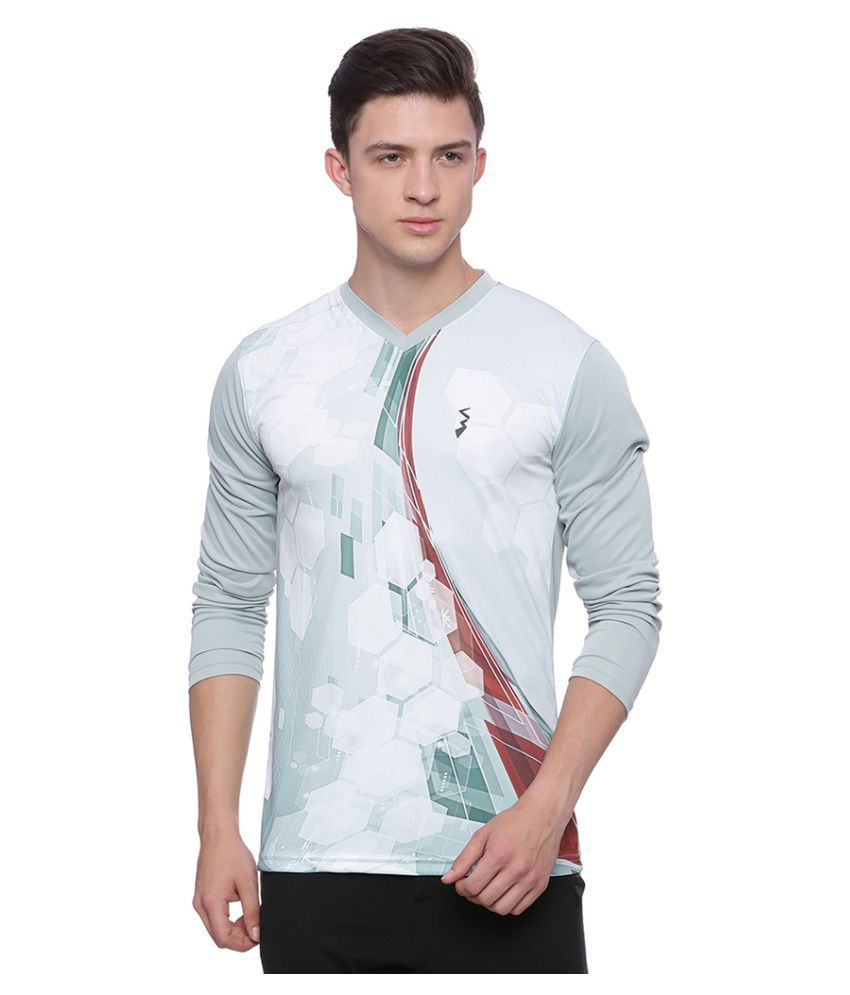 Campus Sutra Multi Polyester T-Shirt Single Pack