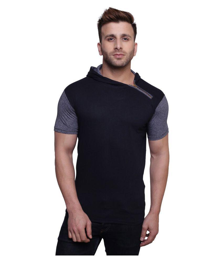 Christy World Navy Hooded T-Shirt