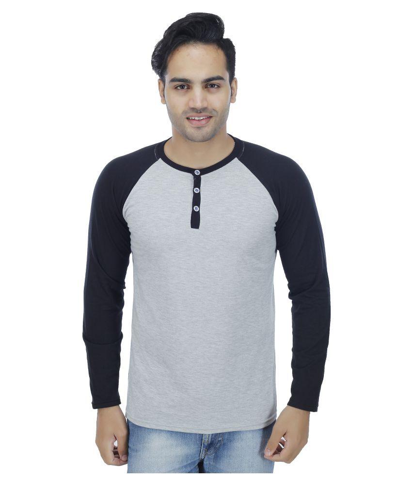 Fashion Beats Grey Round T-Shirt