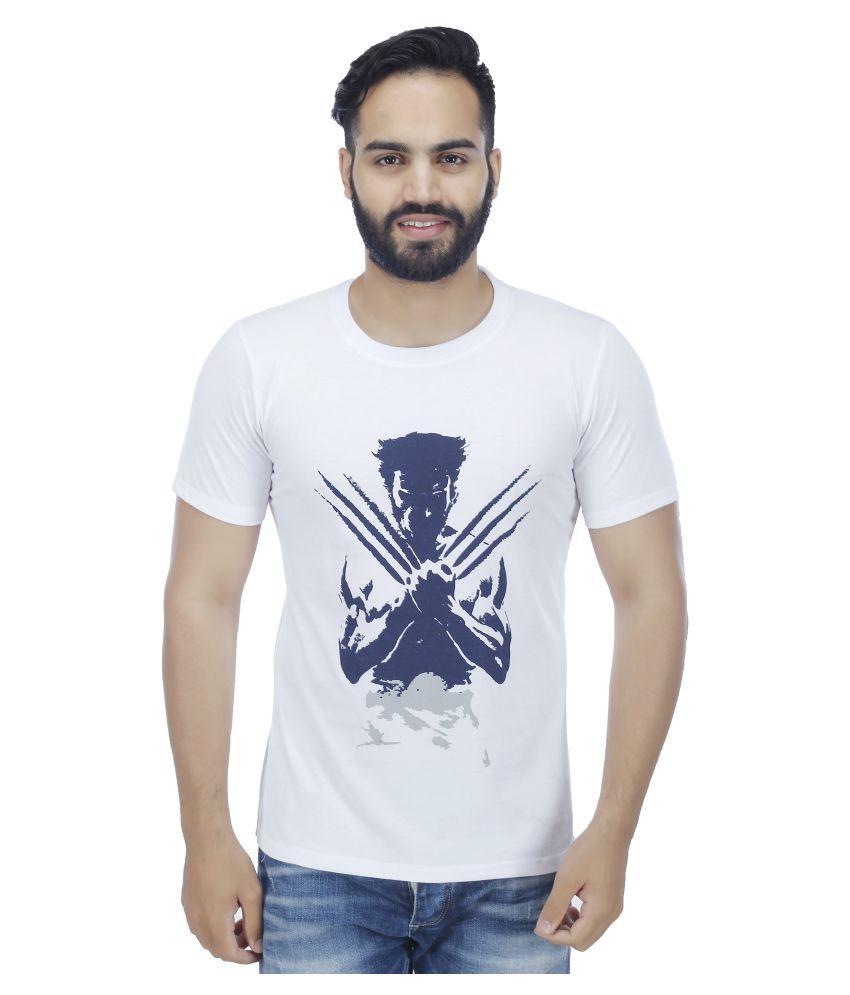Fashion Beats White Round T-Shirt