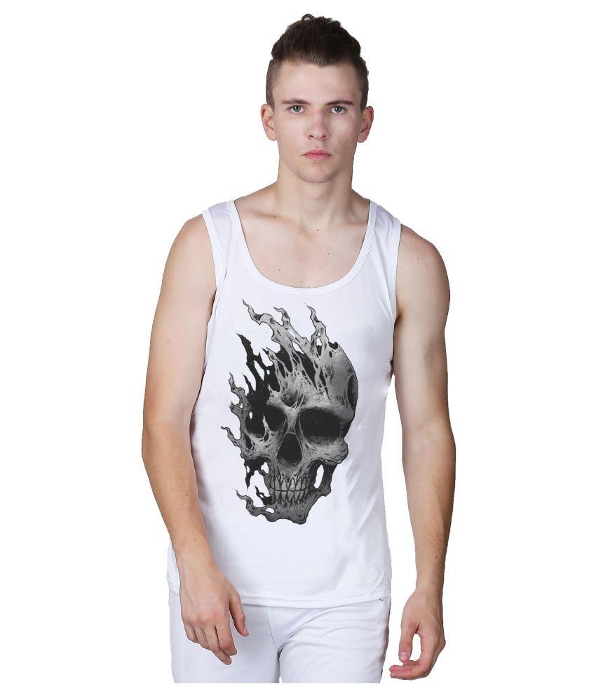 L'appel Du Vide White Polyester T-Shirt