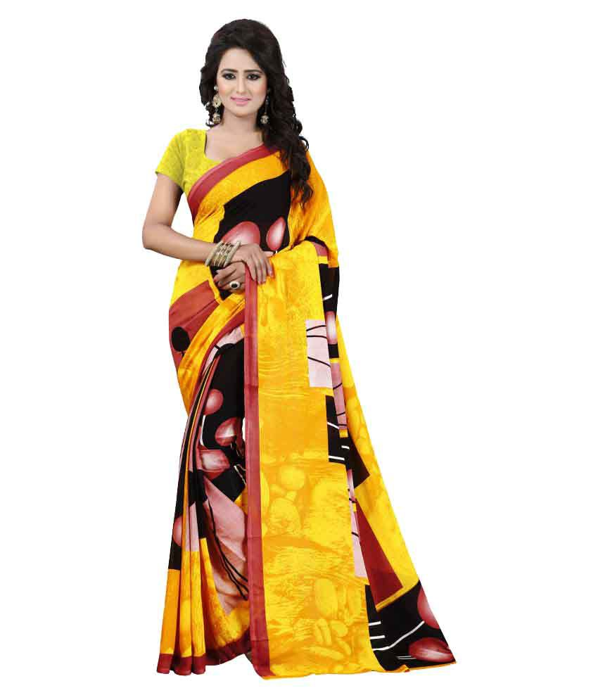 Kalish Multicoloured Georgette Saree