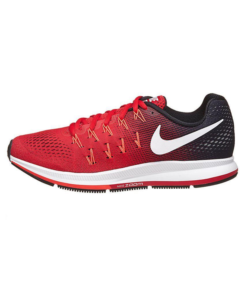 a913ae45f504 Nike 1 Pegasus 33 Maroon Running Shoes - Buy Nike 1 Pegasus 33 ...