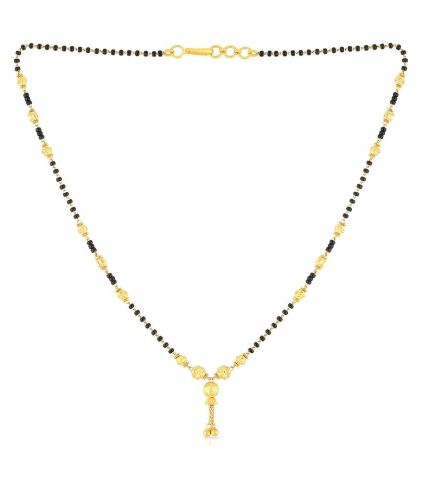 Malabar Gold and Diamonds 22k Yellow Gold Mangalsutra