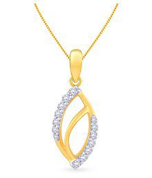 Malabar Gold And Diamonds 18k Yellow Gold Pendant - 649600469838