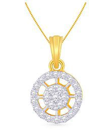 Malabar Gold And Diamonds 18k Yellow Gold Pendant - 624392714208