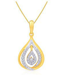 Malabar Gold And Diamonds 18k Yellow Gold Pendant - 685477888061