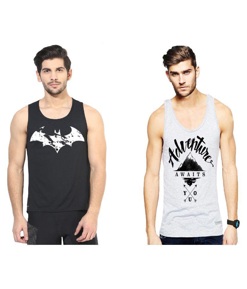 L'appel Du Vide Multi Polyester T-Shirt Pack of 2