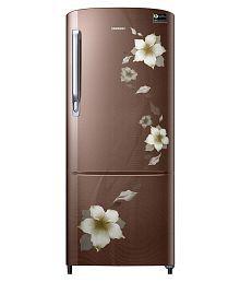 Samsung 192 Ltr 3 Star RR20M272ZD2/NL & RR20M172ZD2/HL Single Door Refrigerator - Star Flower Brown