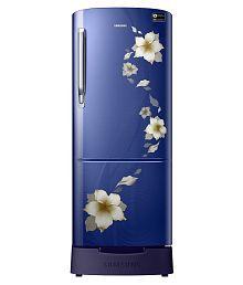 Samsung 192 Ltr 3 Star RR20M282ZU2/RR20M182ZU2 Single Door Refrigerator - Star Flower Blue