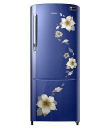 Samsung 212 Ltr 4 Star RR22M274YU2/NL Single Door Refrigerator - Star Flower Blue