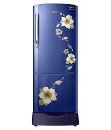 Samsung 230 Ltr 4 Star RR24M289YU2/NL Single Door Refrigerator - Star Flower Blue