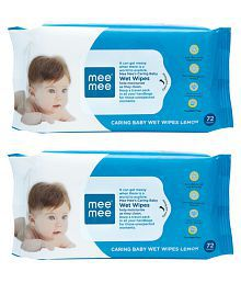 Mee Mee Baby Wet Wipes - Pack of 2
