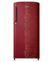 Samsung 192 Ltr 2 Star RR19M2412RJ/NL & RR19M1412RJ/HL Single Door Refrigerator - Royal Tendril Red