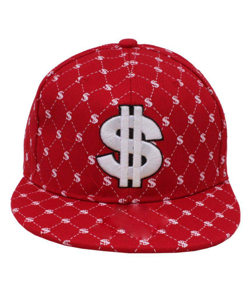 Sushito Red Polyester Caps