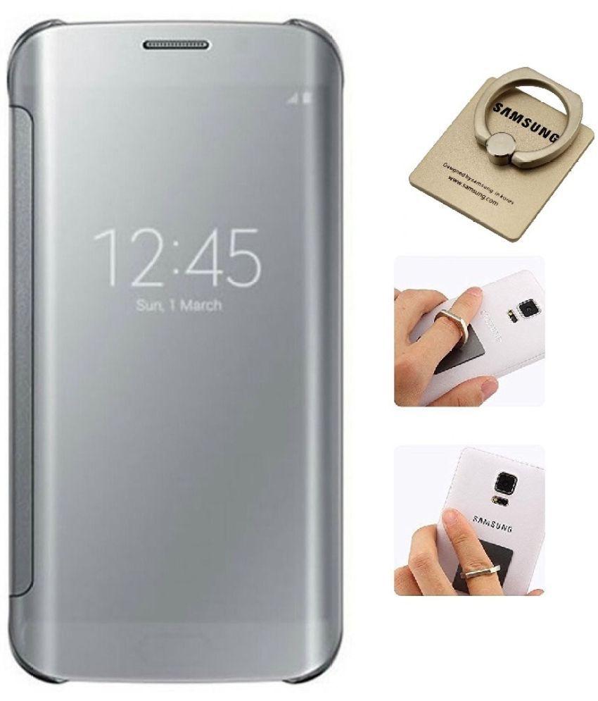 Samsung Galaxy A9 Pro Flip Cover by YGS - Silver