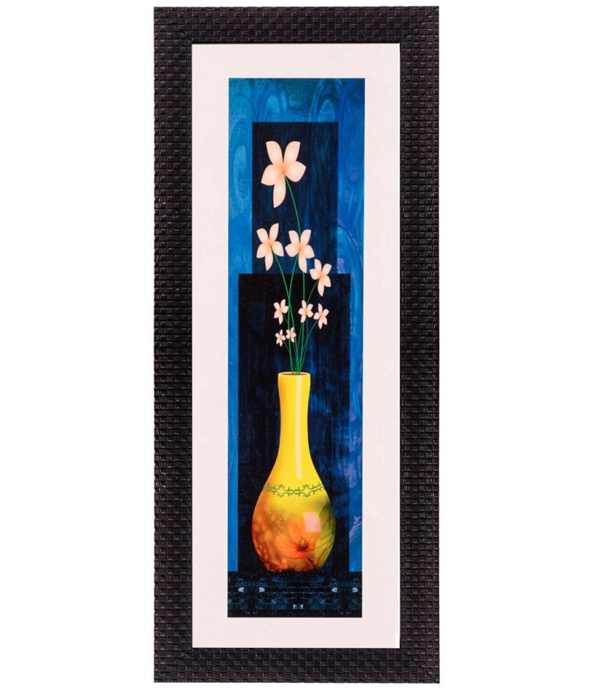 eCraftIndia Framed Satin Matt Print Wood Painting With Frame Single Piece