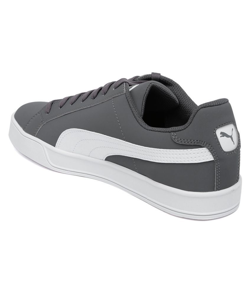 best sneakers a223a 20bd3 Puma Smash Vulc Lifestyle Gray Casual Shoes - Buy Puma Smash ...
