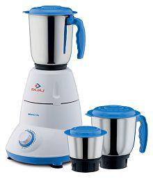 Bajaj Bravo Dlx 500 Watt 3 Jar Mixer Grinder