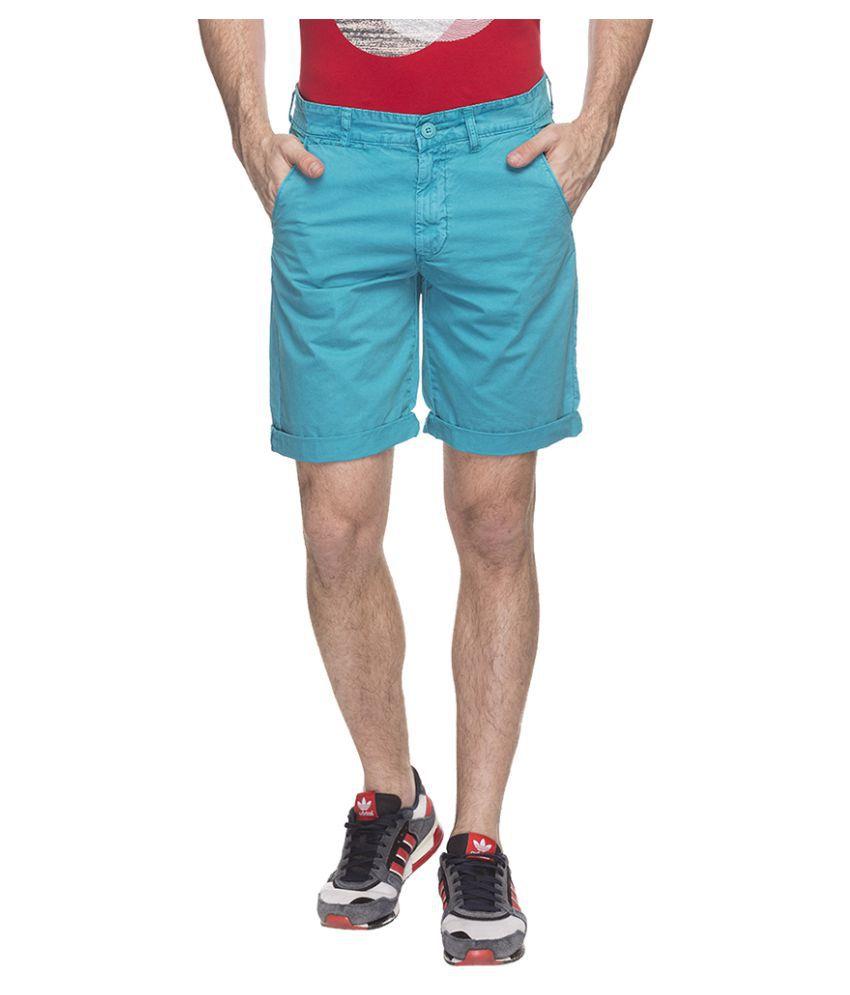 Status Quo Green Shorts