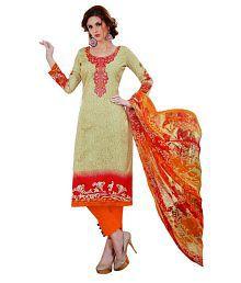 Vero Moda By Unique Multicoloured Cotton Dress Material