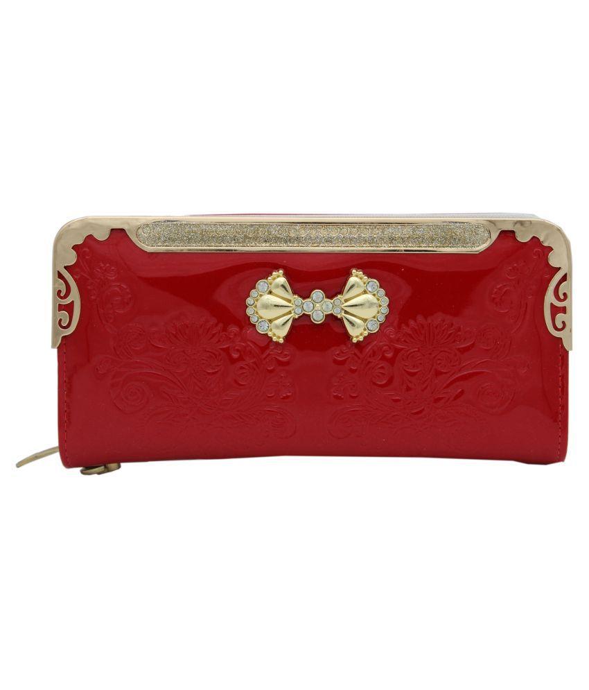 Trendy Red Wallet