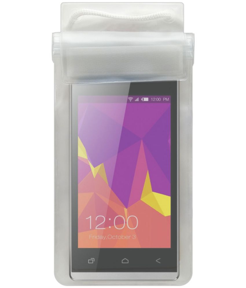 Oppo A57 Holster Cover by Acm - Transparent
