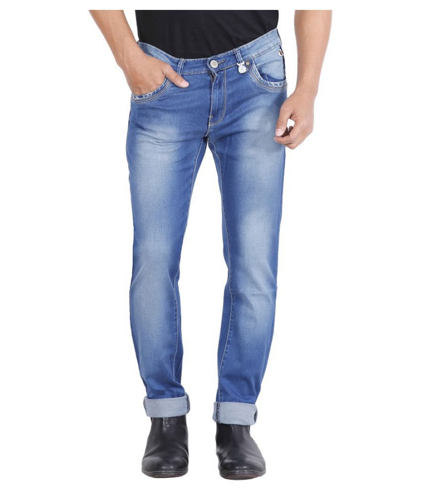 Rick Rogue Blue Regular Fit Jeans
