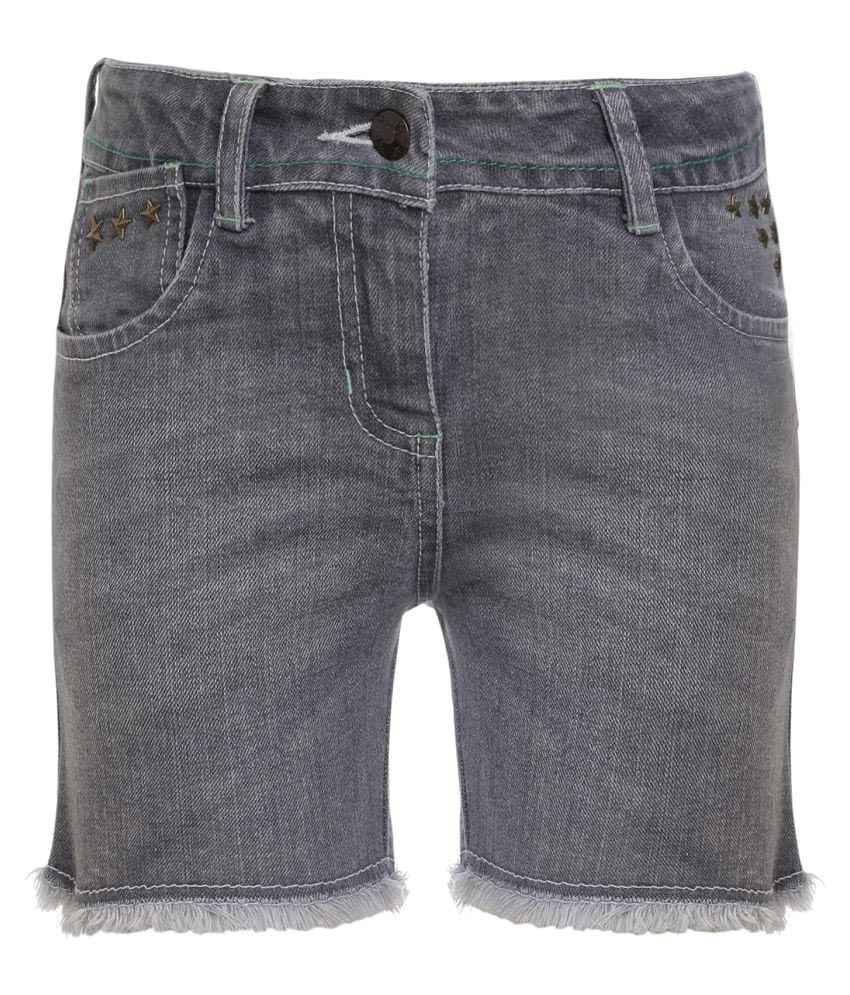 UFO Grey Hot Pants