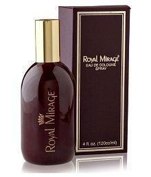 Royal Mirage Eau De Cologne Spray 4 Fl Oz. 120ml