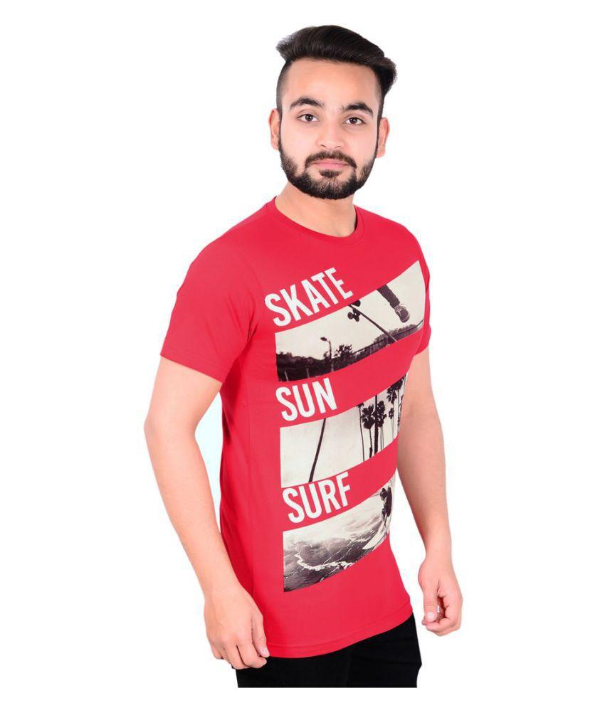 GDS Red Round T-Shirt