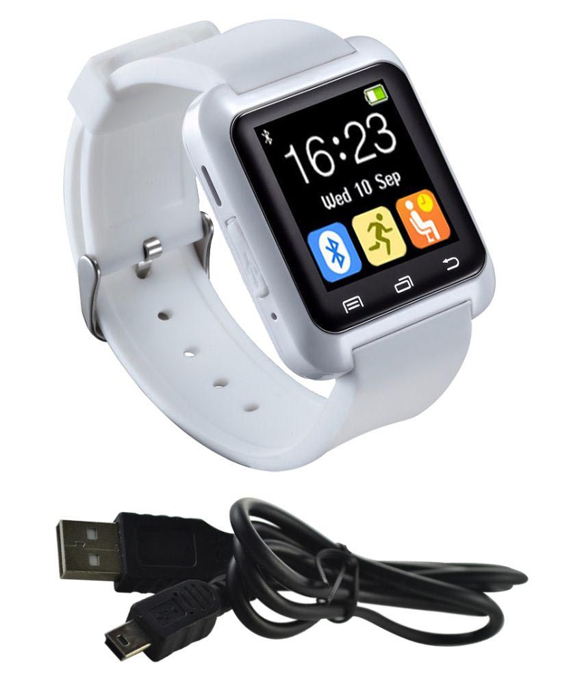 Gold Dust Smart Watches White