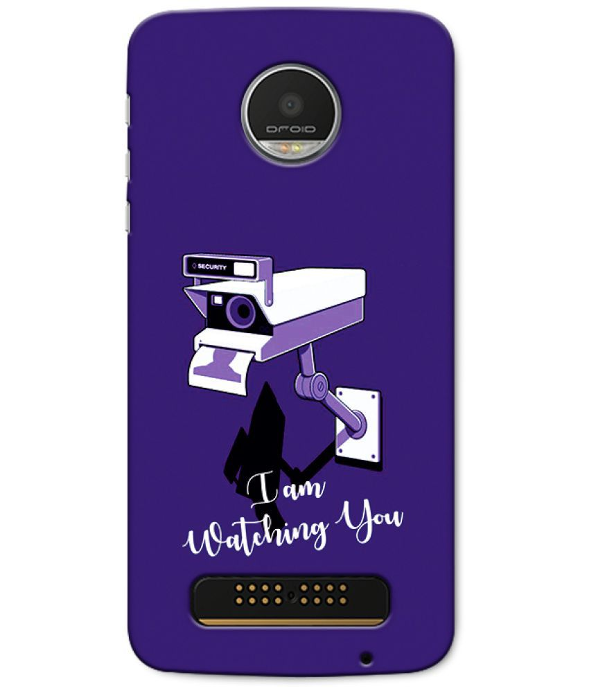 Moto Z Play Printed Cover By CRAZYINK