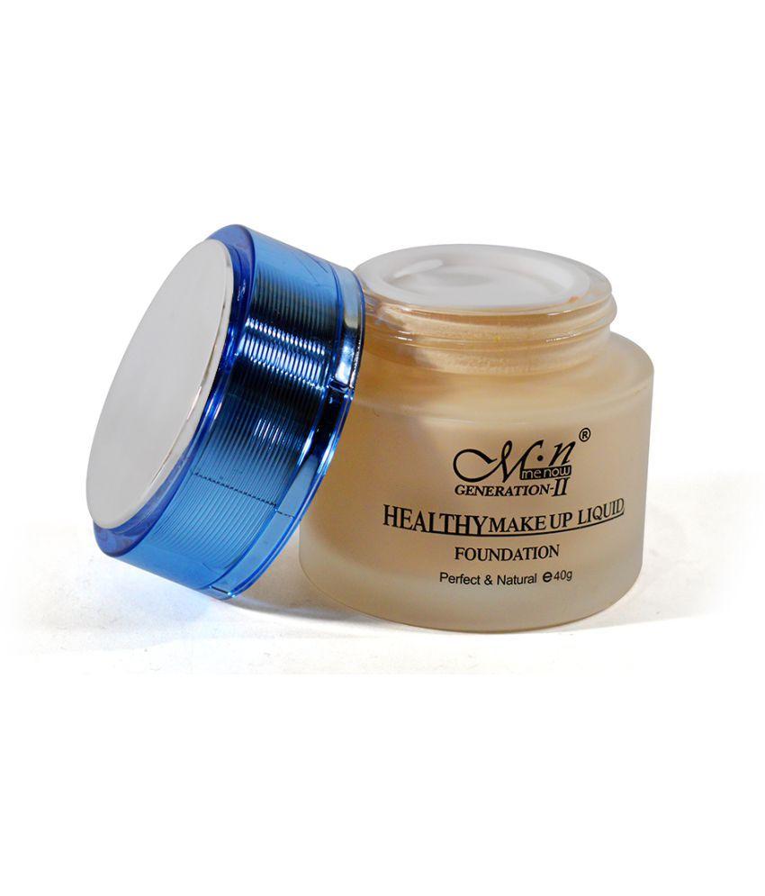 Adbeni Mn Healthy Make up   Liquid Foundation Good Choice Liquid Foundation Beige 40 gm