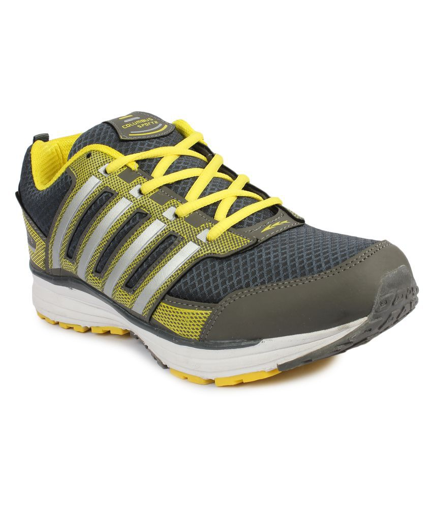 05d4429b3778 Columbus Gray Training Shoes available at SnapDeal for Rs.899