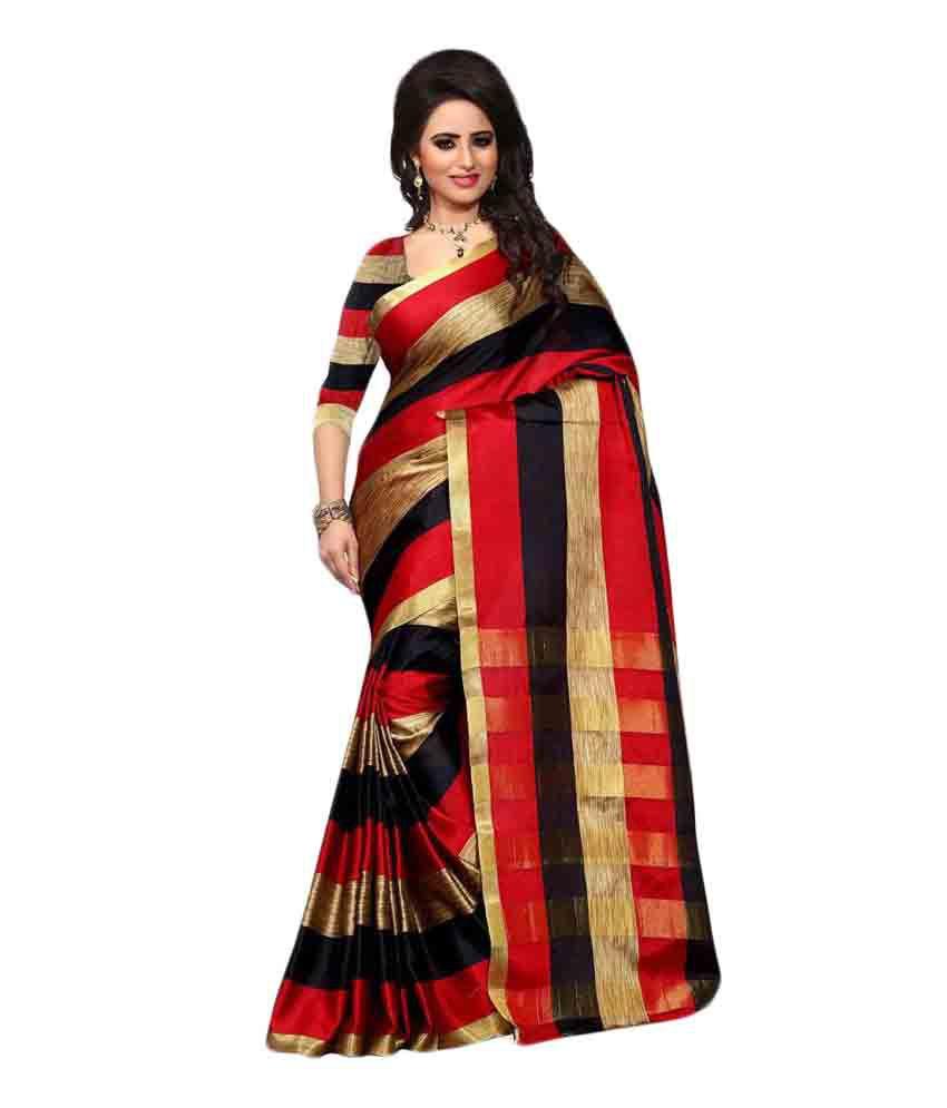 Royal Fashion Multicoloured Silk Saree